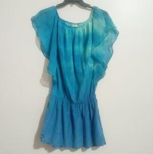 Gypsy 05 100% Silk Tie Dye Dress S